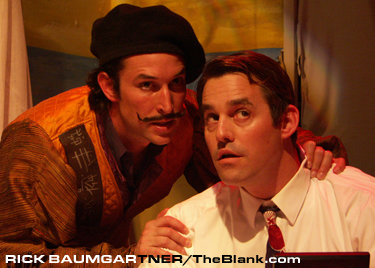 Noah Wyle and Nicholas Brendon in Lobster Alice